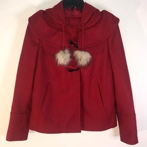 Juicy Couture beautiful RED Coat